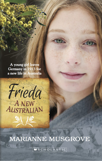 Covert art of Frieda: A New Australian by Marianne Musgrove